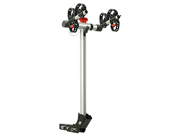 2 bike hitch mounted carrier