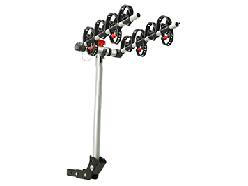 4 bike hitch mounted carrier