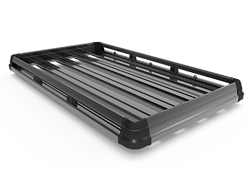 black alloy roof top tray
